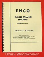 Enco 93600 Milling Machine Operator's & Parts Manual 0930