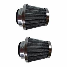 2x 38mm Air Filter Cleaner 50cc 110 125cc Dirt Bike ATV Quad GY6 Moped Scooter