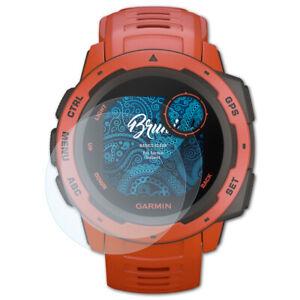 Bruni-2x-Ecran-protecteur-pour-Garmin-Instinct-Protecteur-d-039-ecran