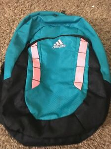 772d9ca1f4 Adidas Load Spring Student Collegiate Back Pack Neon Pink And Blue ...
