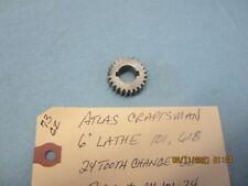 Atlas Craftsman 6 Lathe 101 618 24 Tooth Gear