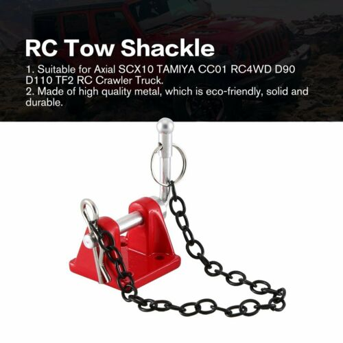 1:10 Metal Tow Shackle Trailer Hook Set For Rock Crawler RC Axial SCX10 Car Ir