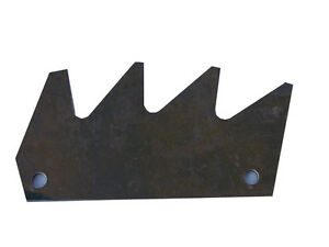 Manure Spreader paddle tip or blade to fit John Deere 450 and 680