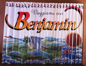 ENCICLOPEDIA-COMPLETA-VIAGGIAMO-CON-BENJAMIN-25-VOLUMI-DE-AGOSTINI