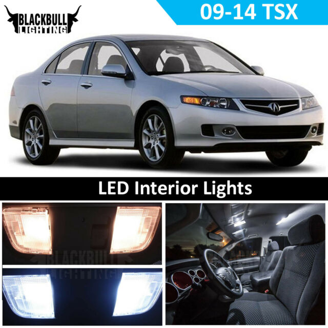 White LED Interior Light Replacement Package Kit For 2009