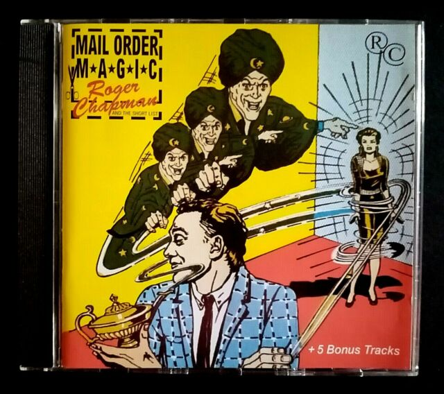 Roger Chapman & the Short List! Mail Order Magic CD Mystic (Mys CD 188)