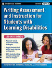 Writing Assessment and Instruction for Students with Learning Disabilities by Nancy Mather, Barbara J. Wendling, Rhia Roberts (Paperback, 2009)