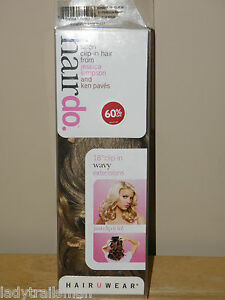 HairDo-Salon-Clip-In-Hair-Extensions-18-034-WAVY-BUTTERED-TOAST