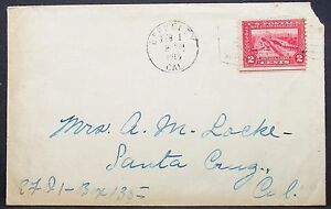 US-Cover-Berkeley-San-Francisco-Panama-Canal-Stamp-2c-1915-USA-Letter-Y-14