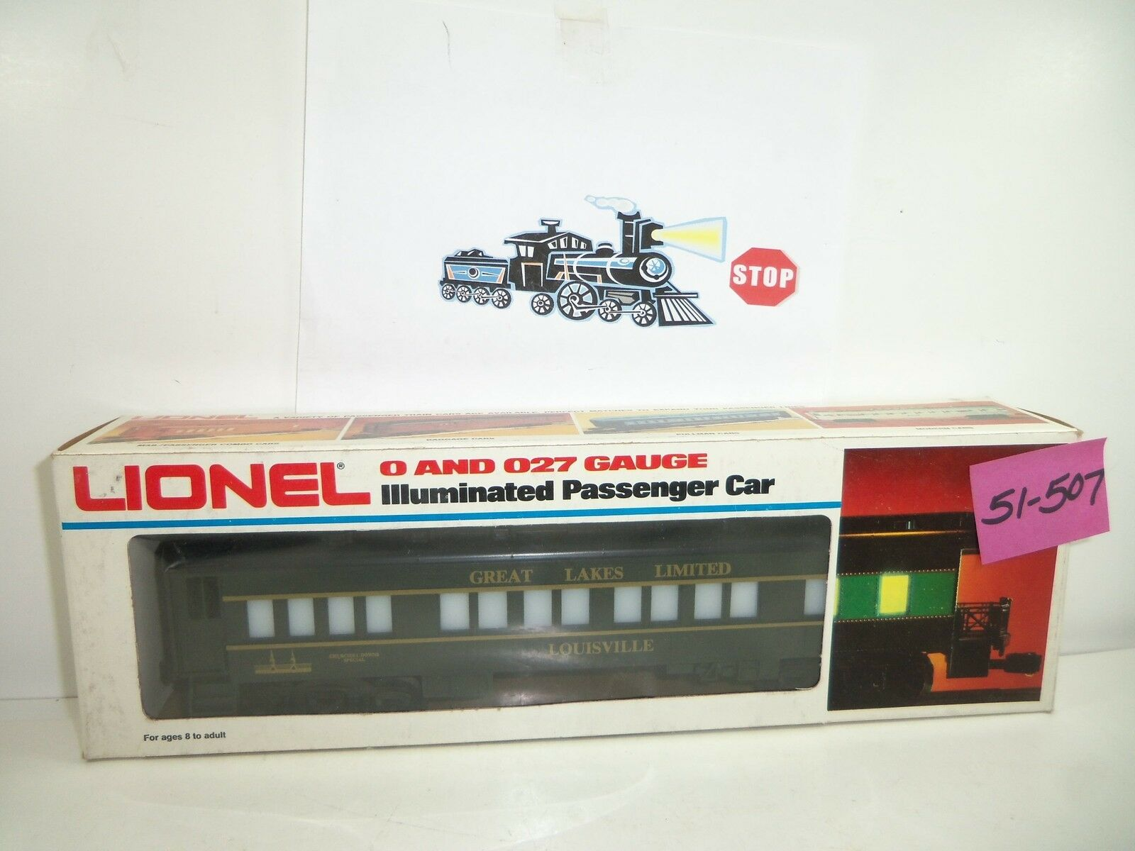 Lionel 1981 TCA Convention Car NOS 51-507