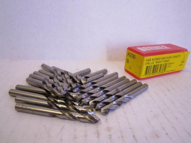Cobalt Screw Machine Drill Bit 7//32″ 135°TiAlN 12 Pack