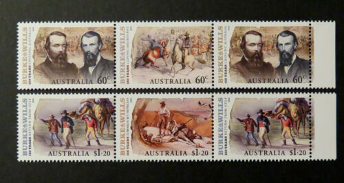 Australian Decimal Stamps 2010 Burke & Wills 150 Years Set of 6 MNH