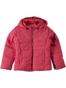 NAME-IT-Maedchen-Winterjacke-Steppjacke-Mit-rot-pink-Groesse-92-bis-122