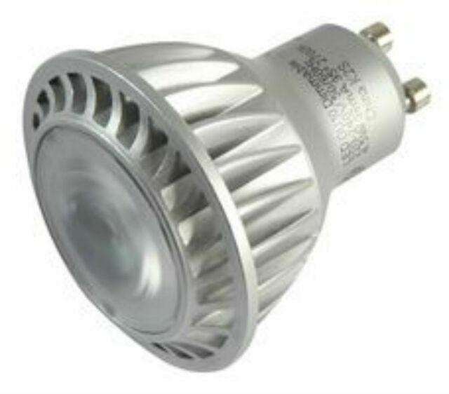 GE GU10 97248 240v DIMMABLE LED Bulb Lamp 4.5w FloodBeam 2700k warm white L58mm