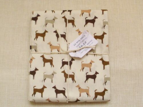 100/% cotton Dog fabric.GREAT FOR DOG LOVERS Various size bundles availiable