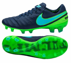 new styles 2fd86 6295b Details about Mens Nike Tiempo Legend VI FG Soccer Cleats 6.5 Coastal Blue  Green 819177-443