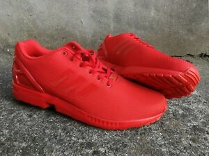 separation shoes cdf7b dc663 Details about adidas Originals ZX Flux RS Sneakers - Red, Size UK13,  US13.5, EUR 48⅔, NEW