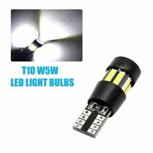 2-x-Bombillas-LED-T10-12v-Cree-Luz-Blanca-Xenon-Coche-Interior-Posicion-CANBUS