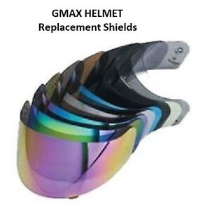 Gmax-GM39Y-GM48-GM58-GM68-GM69-Helmet-Replacement-Shield-CLEAR-Motorcycle-Full