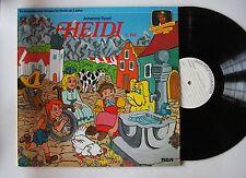 Hörspiel Heidi, 2. Teil Ger LP 1979 Ultrarare Testpressing LP