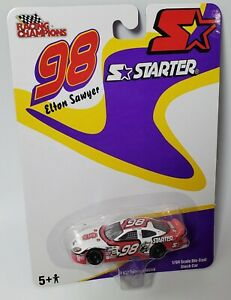 EAST CAROLINA UNIVERSITY 1//64 #98 NASCAR DIECAST REPLICA RACED AT ROCKINGHAM