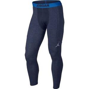 sports shoes 82fce 09505 Image is loading Nike-Jordan-Mens-AJ-Compression-Shield-Training-Tights-