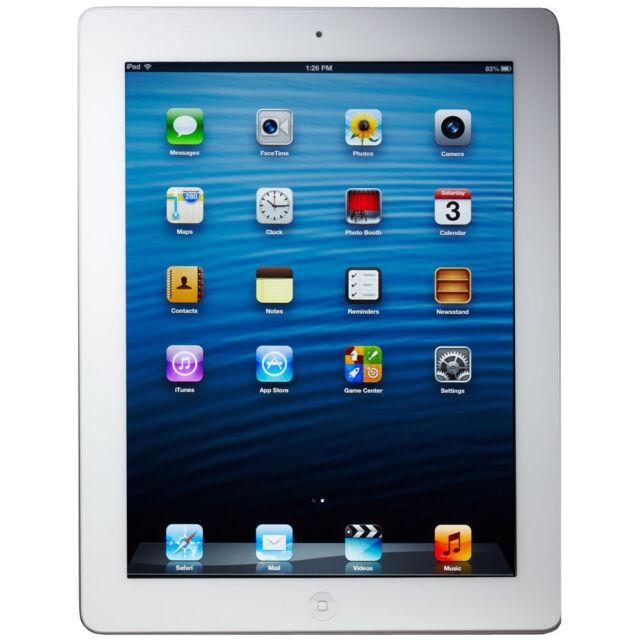 Apple iPad 4th Gen. 16GB, Wi-Fi, 9.7in - White (CA)