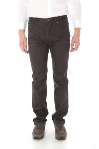 06j31df Trouser Pantaloni Marrone Jeans Fit Regular Armani Aj 47 Uomo aaZqt8Ow