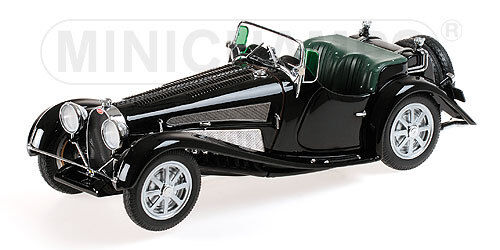 Bugatti Type 54 Roadster 1931 Negro 1:18 Model 107160 MINICHAMPS