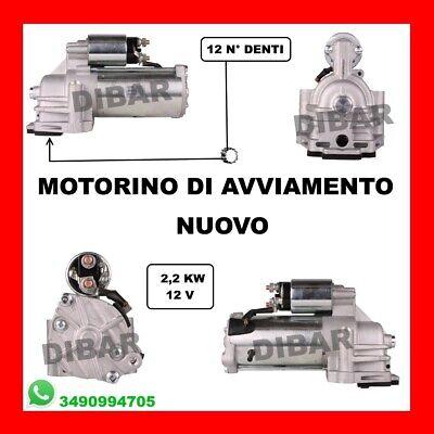 MOTORINO DI AVVIAMENTO NUOVO FORD MONDEO III 2.0 TDCI DAL 2000 AL 2007 MOT FMBA