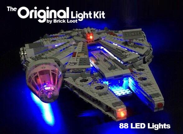 LED Lighting kit for LEGO ® 75105 Millennium Falcon