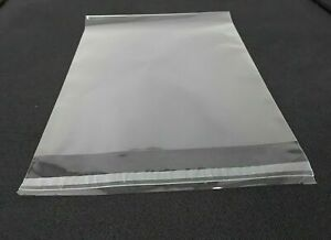 2 1//2 x 8 Resealable Cellophane OPP Poly Sleeves packing mask Clear Cello Bags