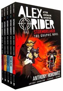 Alex-Rider-Graphic-Novels-Collection-Anthony-Horowitz-5-Books-Set-Stormbreaker