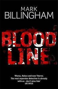 Blood-Line-Billingham-Mark-Very-Good-Book