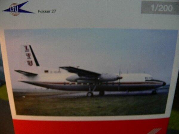 1 200 Herpa Herpa Herpa LTU Fokker 27 557047 SONDERPREIS  statt  | Kostengünstiger  9ad9a6