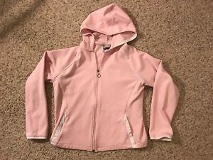 16716d152596c New Balance NB Lightning Dry Pink Women's Polyester Zip-Up Hoodie ...