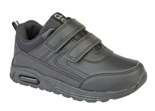 Boys Touch Fastening Trainers Girls Touch Fastening Trainers School Shoes Size