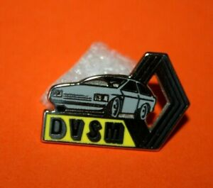 Pin-039-s-Pins-lapel-pin-Car-Auto-AUTOMOBILE-DVSM-LOGO-RENAULT-ZAMAC