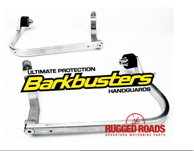 Barkbusters Complete Handguard Kit STORM WHITE for CRF1000 & Adv Sport