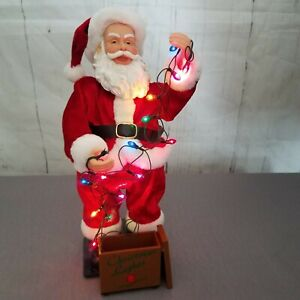 Gemmy Christmas Lights.Gemmy Christmas Lights Holidazed Santa Claus Singing 12 Days