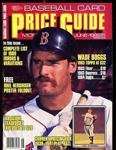 SCD-Baseball-Card-Price-Guide-June-1989-Wade-Boggs-EX-No-ML-jhscd5