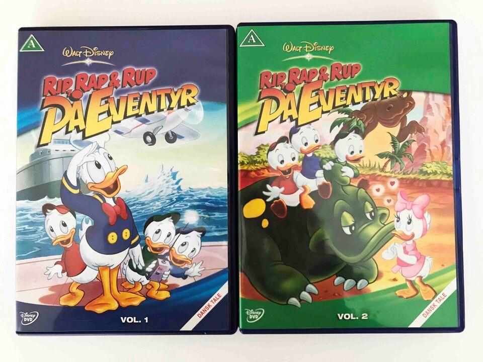 Rip, Rap & Rup på Eventyr: Vol. 1 og vol. 2 (1987), instruktør