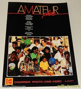 AMATEUR-Photo-Cine-Video-KODAK-N-37-de-1989-Cent-ans-de-Cinema-EKTAR-125