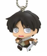 Attack on Titan Eren Mascot Key Chain Anime Manga Licensed MINT