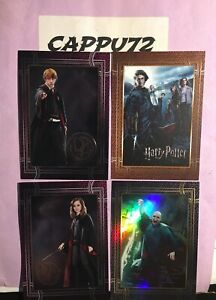 HARRY POTTER WELCOME TO HOGWARTS CARDS MANCOLISTA-CARDS PANINI 2021