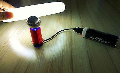 Tesla Wireless Transmission DIY Kits for Wireless Transmission Experiments Test DIY DC5V 1W Super Mini Tesla Coil