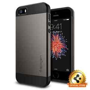 Spigen® Apple iPhone SE / 5S / 5 Case [Slim Armor] Shockproof Case TPU Cover