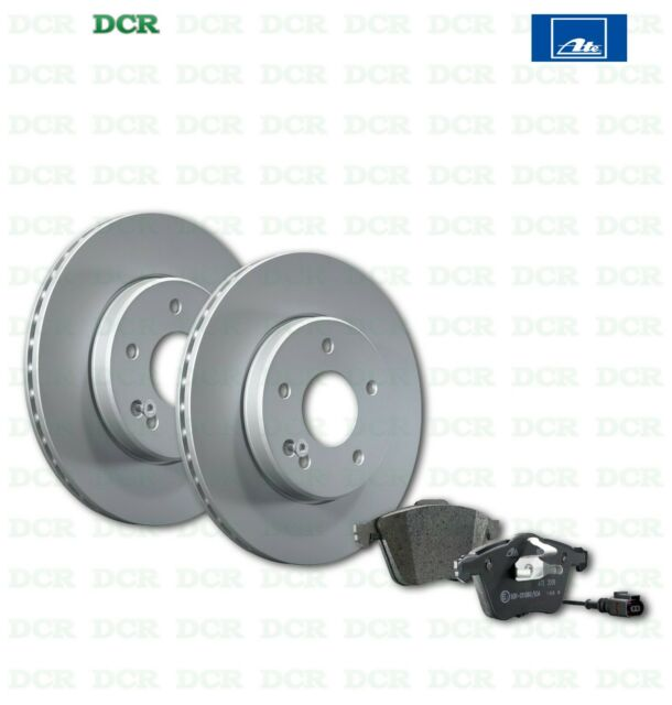 Citroën C3 10-1.4 HDi 67 Front Brake Pads Discs 266mm Vented