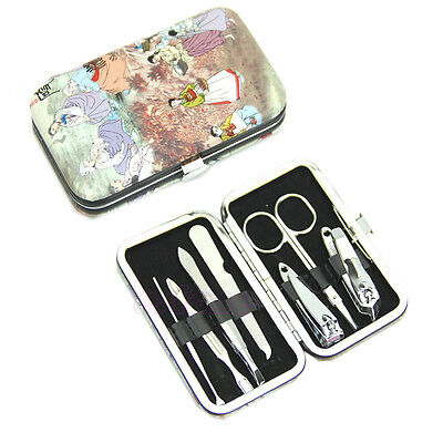 Useful Portable 7 in 1 Nail Clipper Earpick Tweezer Pedicure Kit Grooming Tools