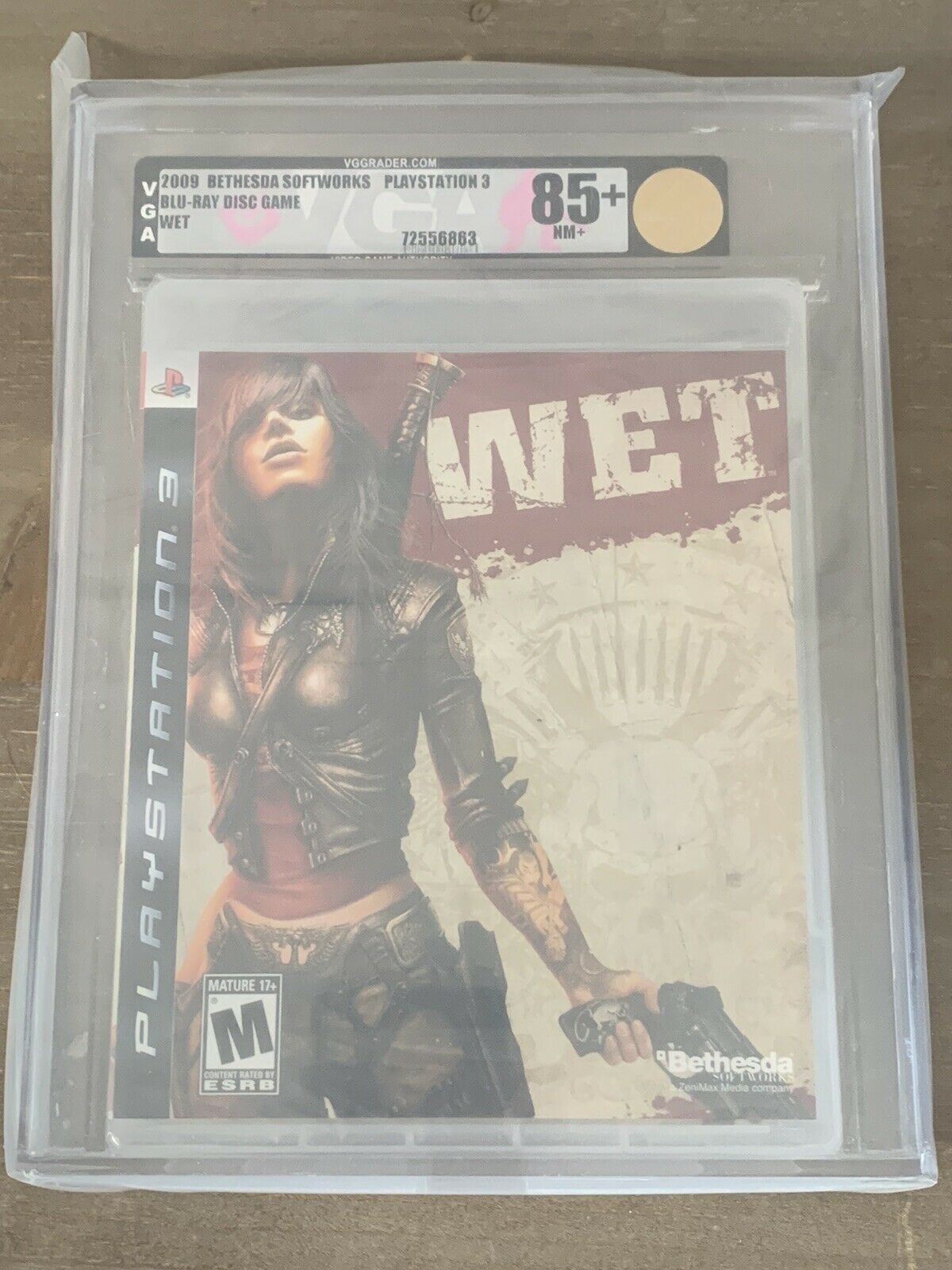 2009 Wet Sony Playstation 3 PS3 New Sealed Graded VGA 85+ Gore